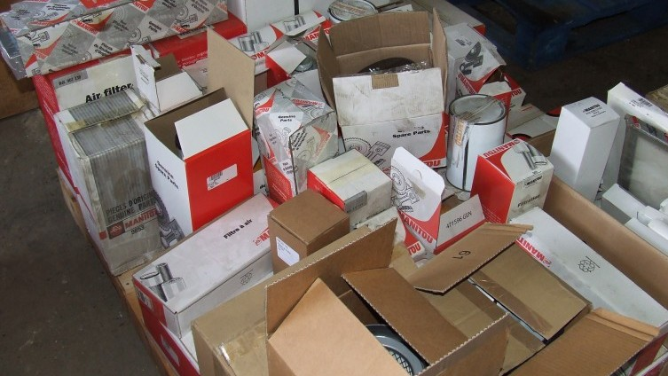 Parts & spares: (see catalogue for details of individual lots)