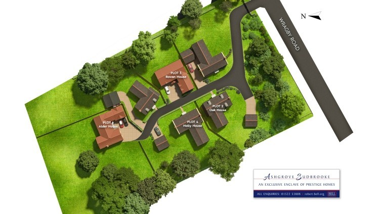 Ashgrove Wragby Road Site Plan