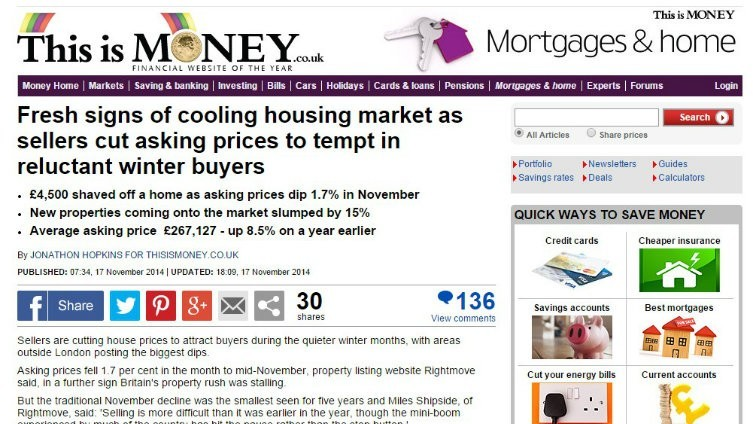 Reports on a housing market slowdown continue