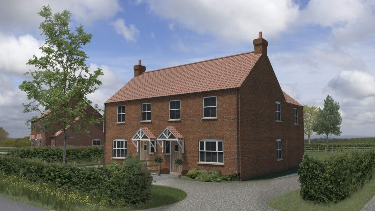 A rare opportunity to buy a substantial new build in Wolds village location