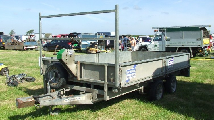 Lot 415: Ifor Williams Flat Trailer SOLD £1,400