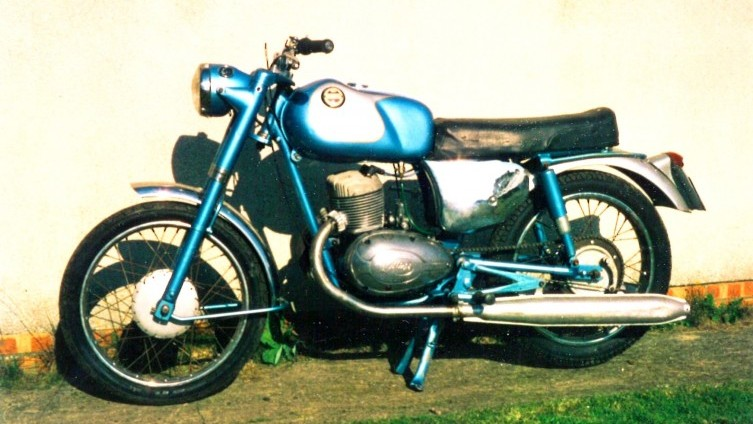 1963 James SuperSport (photo from owners records)
