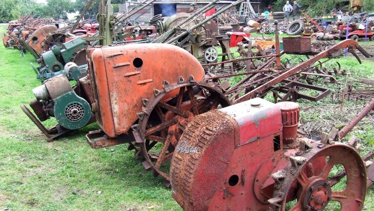 Selection of Vintage Horticultural Machinery