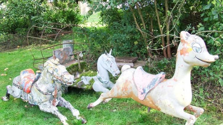 3 Fairground Animals - SOLD £200