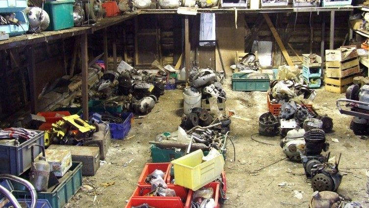 Selection of Engines, Motorcycle Spares etc