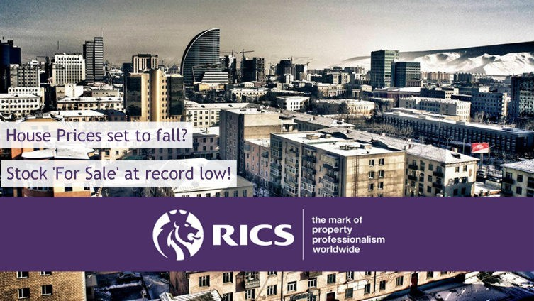 RICS - The number of properties coming on to the market is at a record low!