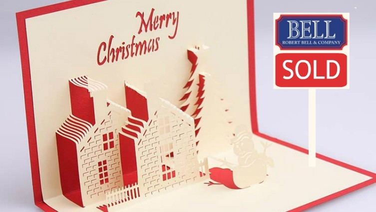Offer your home for sale before Christmas and have a very happy New Year!