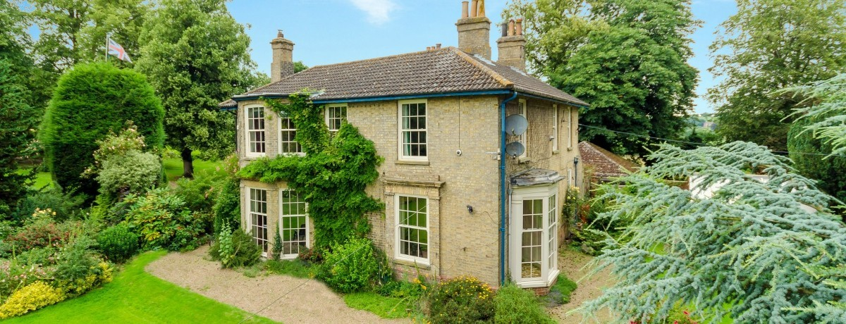 The Old Rectory Raithby cum Maltby - Asking Price £640,000
