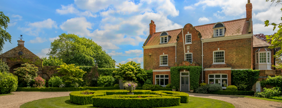 The Manor House Utterby, Louth -  £875,000.