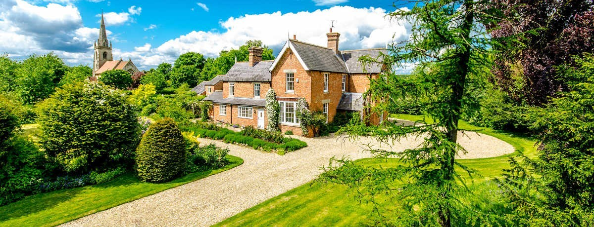The Old Vicarage, The Green, Revesby, Boston. Asking Price £535,000 - Sold!